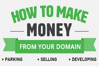 make money from domain